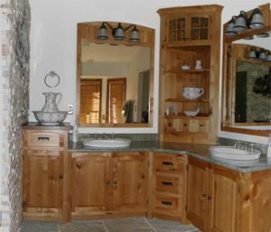 Rustic Alder Master Bath