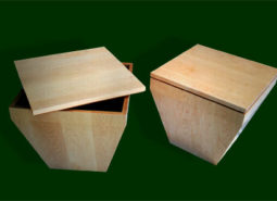 Solid Maple Tub Tables