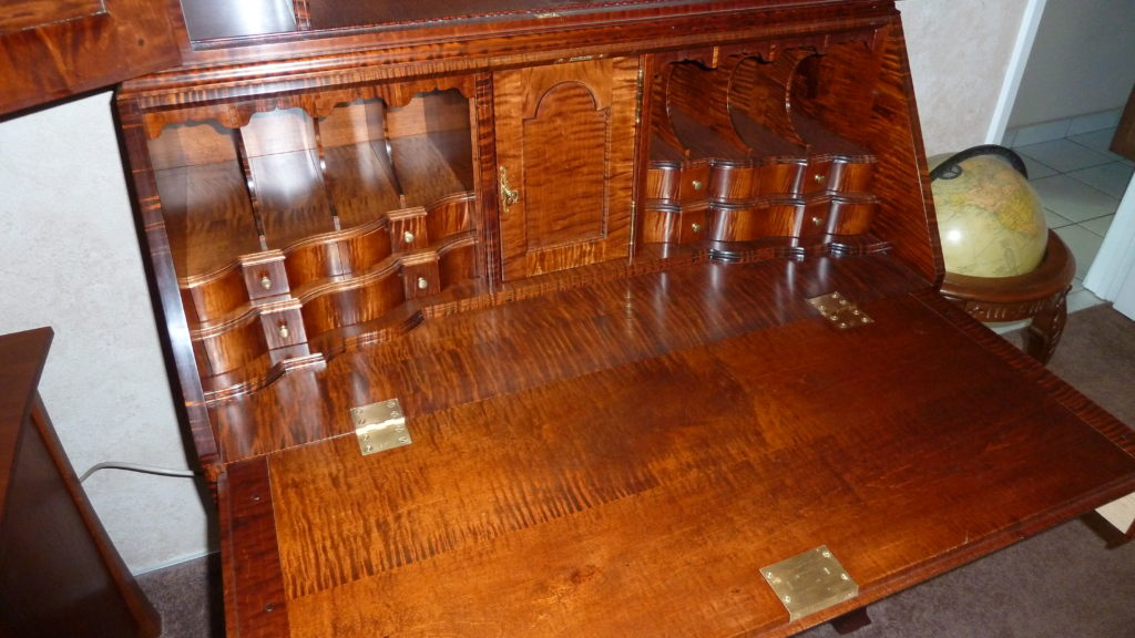 18th Century N.E Secretary (reproduction)
