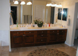 Bathroom Cabinet Re-Facing